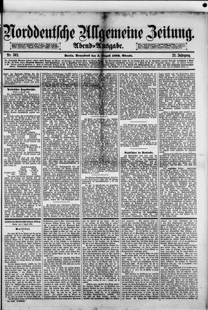 Norddeutsche allgemeine Zeitung vom 05.08.1882