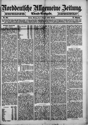 Norddeutsche allgemeine Zeitung vom 07.08.1882