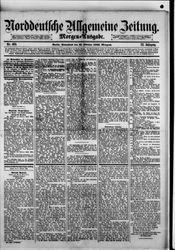 Norddeutsche allgemeine Zeitung (21.10.1882)