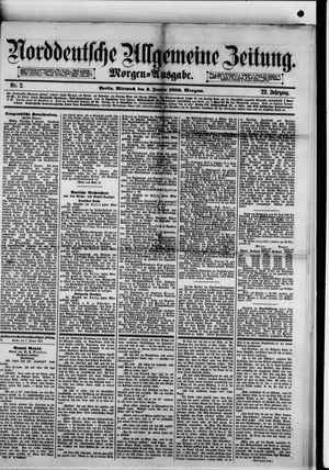 Norddeutsche allgemeine Zeitung vom 03.01.1883