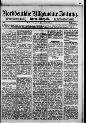 Norddeutsche allgemeine Zeitung vom 05.01.1883