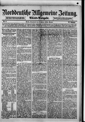 Norddeutsche allgemeine Zeitung vom 06.01.1883