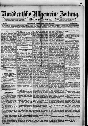 Norddeutsche allgemeine Zeitung on Jan 12, 1883