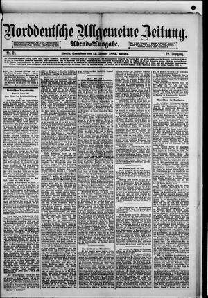 Norddeutsche allgemeine Zeitung vom 13.01.1883