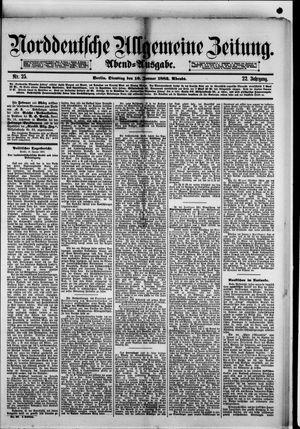 Norddeutsche allgemeine Zeitung vom 16.01.1883