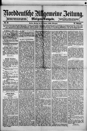 Norddeutsche allgemeine Zeitung on Jan 19, 1883