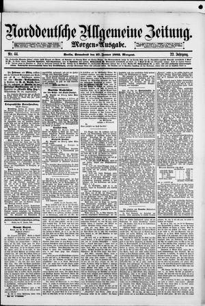 Norddeutsche allgemeine Zeitung vom 27.01.1883