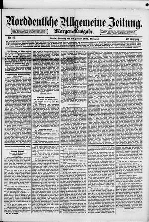 Norddeutsche allgemeine Zeitung vom 28.01.1883