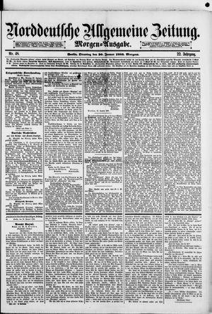 Norddeutsche allgemeine Zeitung vom 30.01.1883