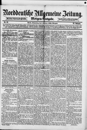 Norddeutsche allgemeine Zeitung vom 01.02.1883