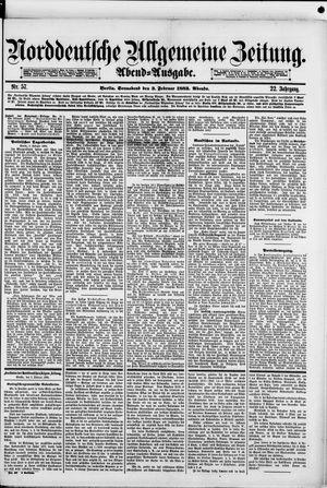 Norddeutsche allgemeine Zeitung vom 03.02.1883