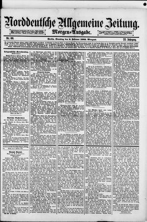 Norddeutsche allgemeine Zeitung vom 06.02.1883