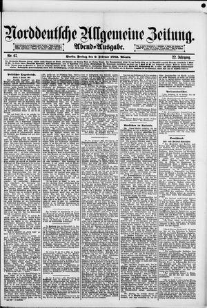 Norddeutsche allgemeine Zeitung vom 09.02.1883