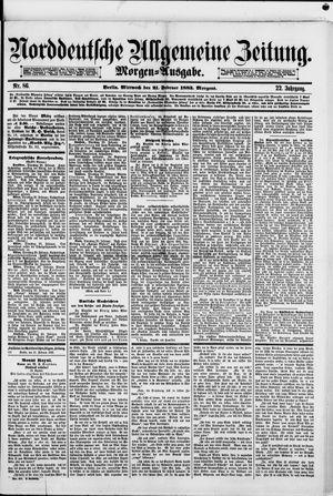 Norddeutsche allgemeine Zeitung vom 21.02.1883