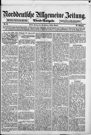 Norddeutsche allgemeine Zeitung vom 23.02.1883
