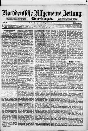 Norddeutsche allgemeine Zeitung vom 02.03.1883