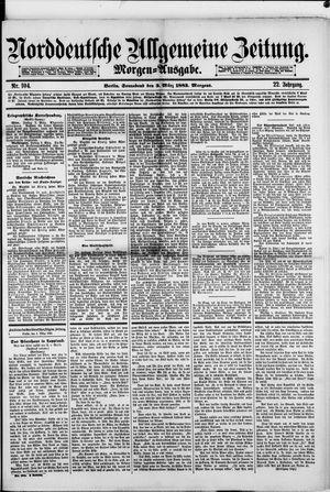 Norddeutsche allgemeine Zeitung vom 03.03.1883