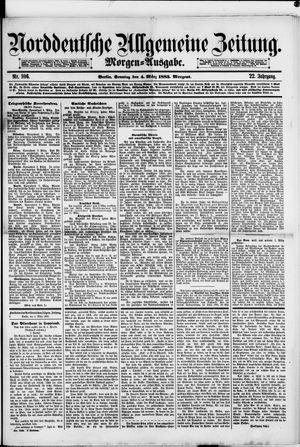 Norddeutsche allgemeine Zeitung vom 04.03.1883