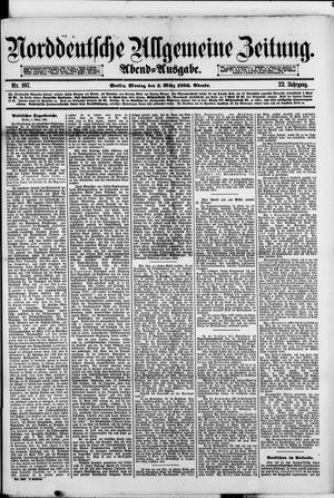 Norddeutsche allgemeine Zeitung vom 05.03.1883