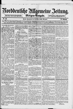 Norddeutsche allgemeine Zeitung vom 10.03.1883