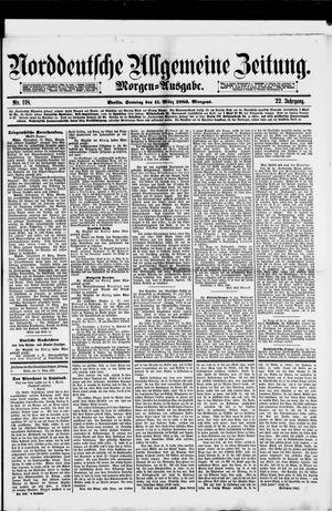 Norddeutsche allgemeine Zeitung vom 11.03.1883