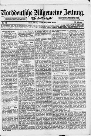 Norddeutsche allgemeine Zeitung vom 12.03.1883