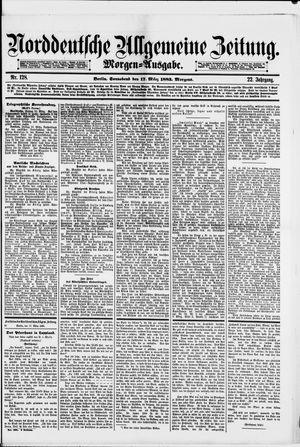 Norddeutsche allgemeine Zeitung vom 17.03.1883