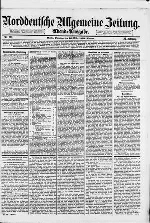 Norddeutsche allgemeine Zeitung vom 20.03.1883