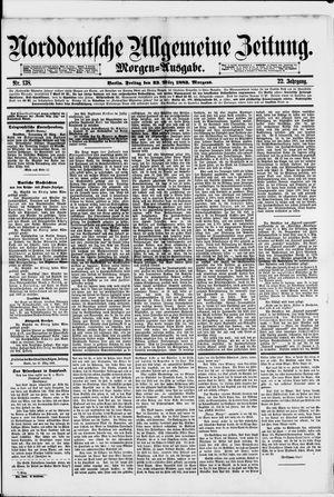Norddeutsche allgemeine Zeitung vom 23.03.1883