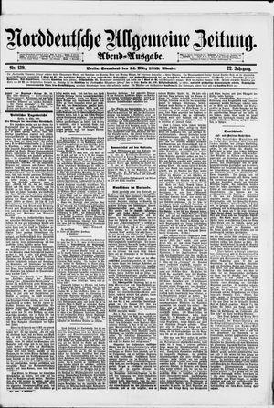 Norddeutsche allgemeine Zeitung vom 24.03.1883