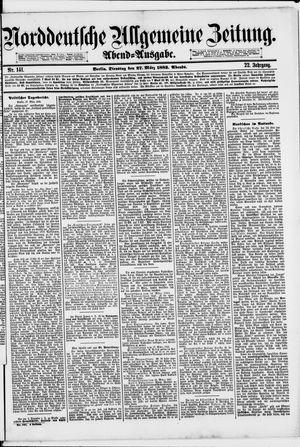Norddeutsche allgemeine Zeitung vom 27.03.1883