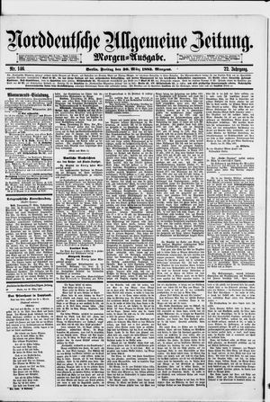 Norddeutsche allgemeine Zeitung vom 30.03.1883