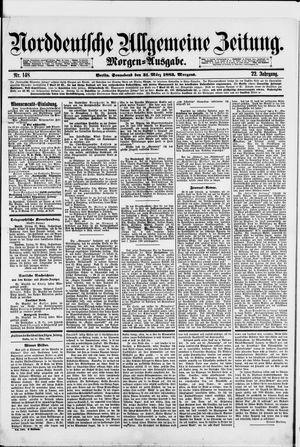 Norddeutsche allgemeine Zeitung vom 31.03.1883