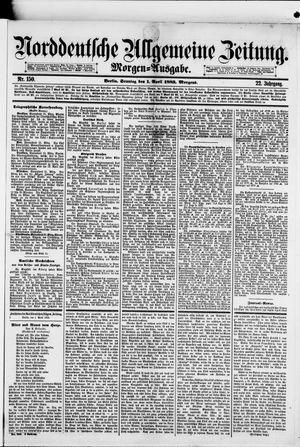 Norddeutsche allgemeine Zeitung vom 01.04.1883