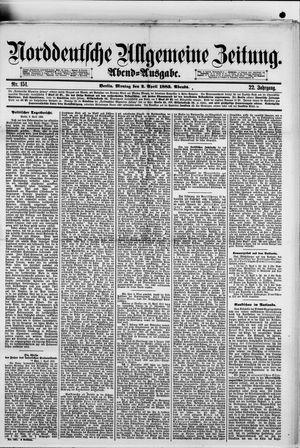 Norddeutsche allgemeine Zeitung vom 02.04.1883