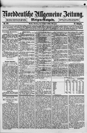 Norddeutsche allgemeine Zeitung on Apr 3, 1883