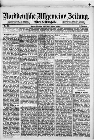 Norddeutsche allgemeine Zeitung vom 04.04.1883