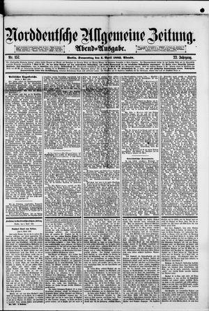 Norddeutsche allgemeine Zeitung vom 05.04.1883