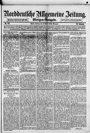Norddeutsche allgemeine Zeitung vom 06.04.1883