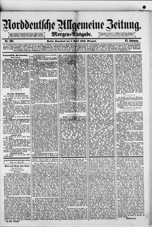 Norddeutsche allgemeine Zeitung vom 07.04.1883