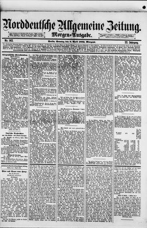 Norddeutsche allgemeine Zeitung vom 08.04.1883