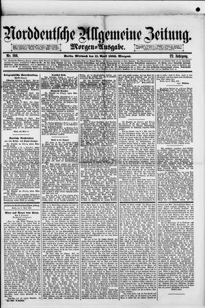 Norddeutsche allgemeine Zeitung vom 11.04.1883
