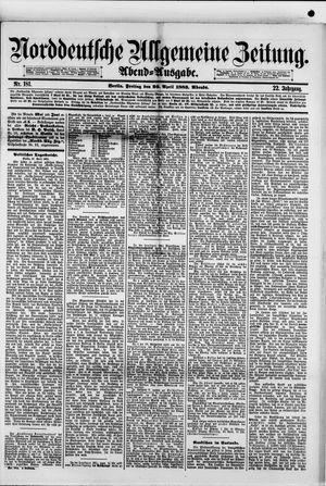 Norddeutsche allgemeine Zeitung vom 20.04.1883