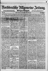 Norddeutsche allgemeine Zeitung (22.04.1883)