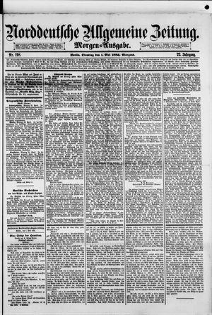 Norddeutsche allgemeine Zeitung vom 01.05.1883