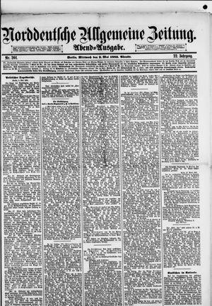 Norddeutsche allgemeine Zeitung on May 2, 1883