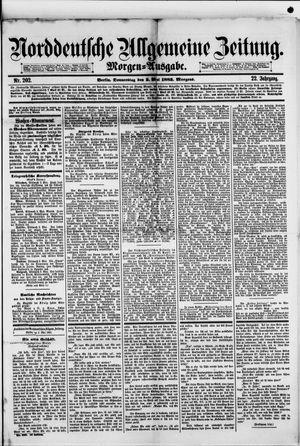 Norddeutsche allgemeine Zeitung vom 03.05.1883