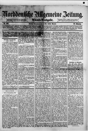 Norddeutsche allgemeine Zeitung vom 05.05.1883