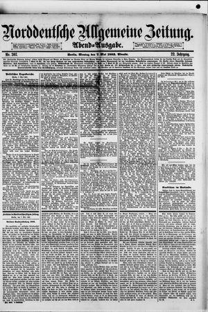 Norddeutsche allgemeine Zeitung vom 07.05.1883