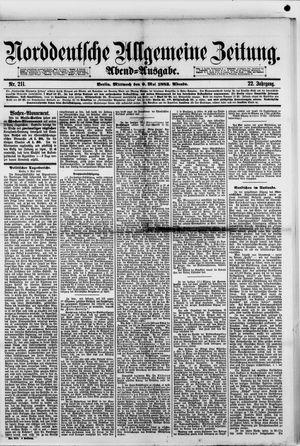 Norddeutsche allgemeine Zeitung vom 09.05.1883